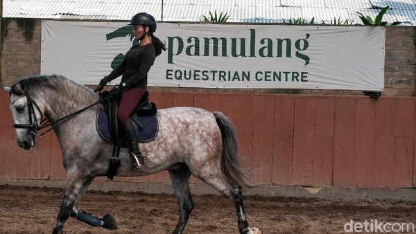 Salah satu tempat yang direkomendasikan untuk olahraga berkuda adalah Pamulang Equestrian Centre.