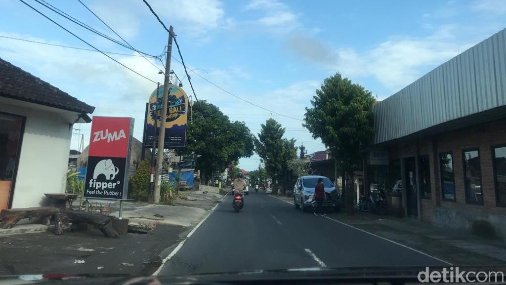 Bali Dihantam Pandemi Corona, Lalu-lalang Wisatawan Sepi