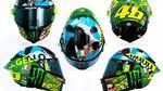 Lucu! Helm Spesial Rossi di MotoGP Italia 2021