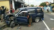 Kecelakaan Karambol Terjadi di Jalan Babat-Jombang
