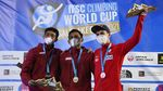 Mantap! Atlet Panjat Tebing RI Pecahkan Rekor Dunia