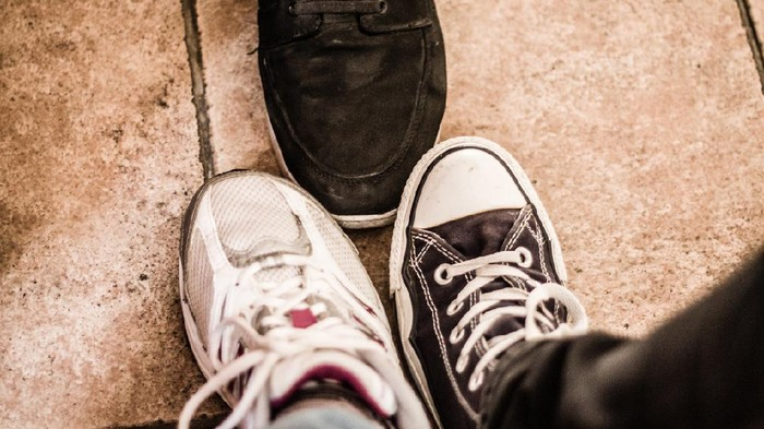 3 Feets of 3 Friends, shoes shot, my classmates