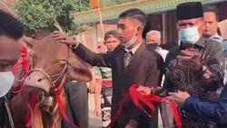 Heboh Seserahan Pernikahan di Nganjuk Bak Seorang Sultan