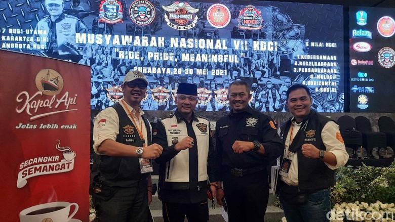 Teddy Minahasa Resmi Pimpin HDCI, Harap Komunitas Moge Bisa Dongkrak Pariwisata dan Perekonomian