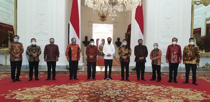 Ahmad Basrah dan PA GMNI temui Presiden Jokowi bahas sola kebangsaan hingga agenda kongres