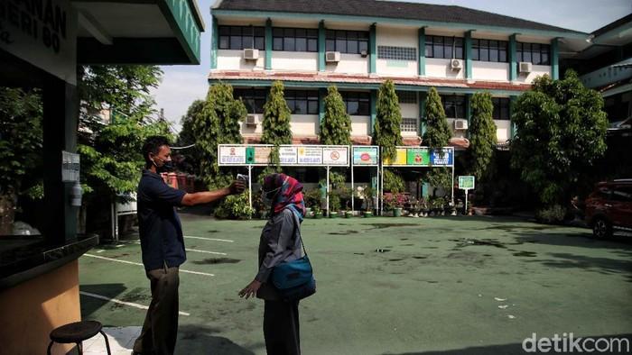 Sekolah di Ibu Kota bersiap menjelang pelaksanaan PPDB 2021. SMAN 80 Sunter Agung di Jakarta Utara, tak ketinggalan berbenah sambut PPDB di DKI Jakarta.