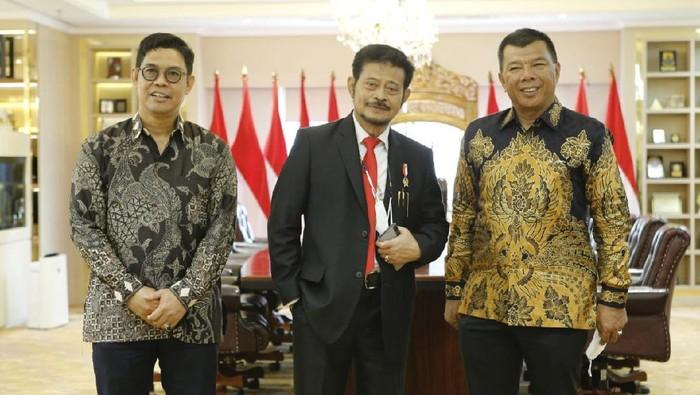 Bupati dan Wakil Bupati Bulukumba serta Menteri Pertanian