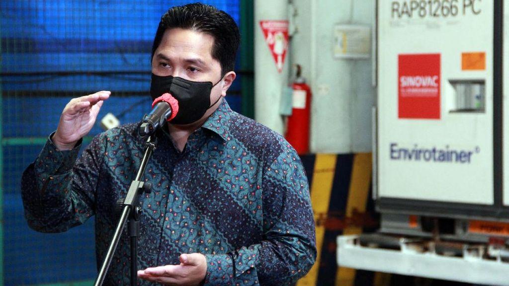 Tuntutan Erick Thohir: Holding Ultra Mikro Harus Kasih Bunga Murah!