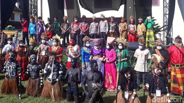 Festival budaya dan kesenian oleh mahasiswa di Makassar
