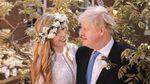 Foto Boris Johnson-Carrie Symonds yang Menikah Diam-diam