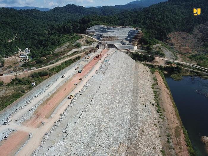 Kolam Regulasi Nipa-Nipa di Kabupaten Gowa dan Maros, Sulawesi Selatan.