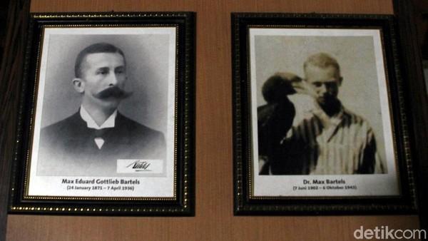 Sebagai informasi, sosok MEG Bartels berbeda dengan Max Bartels. Max Eduard Gottlieb Bartels atau MEG Bartels (ayah) dan Dr. Max Bartels (anak). Pada mulanya nama Max Bartels digunakan oleh MEG Bartels sang ayah dalam jurnal-jurnal ornitologinya sebagai nama singkatnya, namun setelah anak pertamanya lahir nama itu diberikan kepada anak tertuanya. Untuk membedakan hasil karya ayah dan anak, beberapa peneliti terkenal menggunakan nama Max Bartels Sr (MEG) dan Max Bartels Jr.