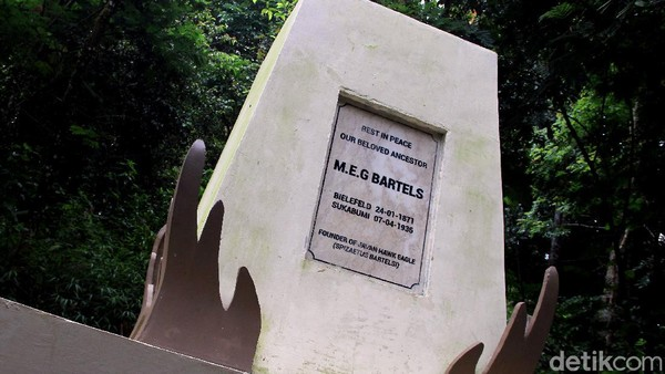 Rumah sekaligus museum koleksi Bartels hingga kini masih kokoh berdiri dan menjadi pusat pendidikan konservasi Elang Jawa. Di museum ini lah masyarakat bisa mengenal dan belajar lebih dalam tentang MEG Bartels dan juga Elang Jawa. Tidak hanya itu, pusara dari MEG Bartels pun terdapat di museum tersebut dan makamnya kini dibuatkan monumen.