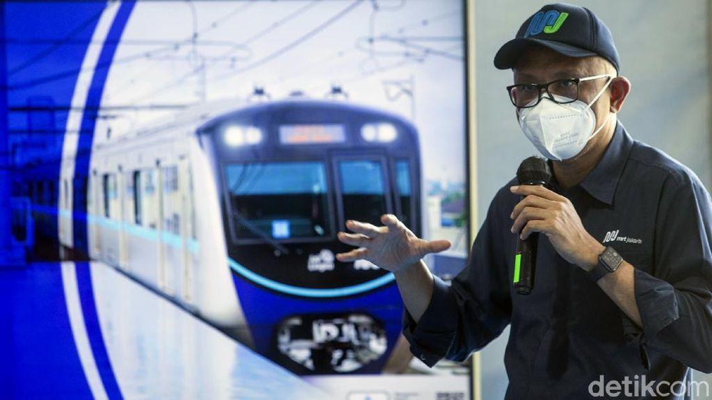 Imbas PPKM, MRT Jakarta Pangkas Proyeksi Pendapatan Tiket Hampir 50%