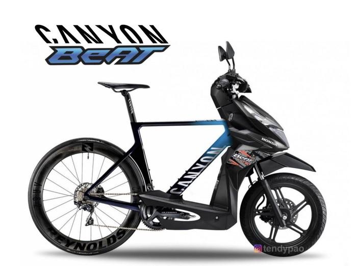 Modfikasi road bike dan Honda beAT
