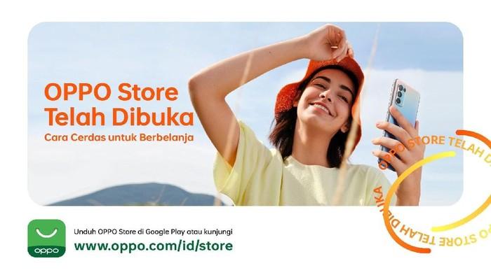OPPO resmikan OPPO Store.