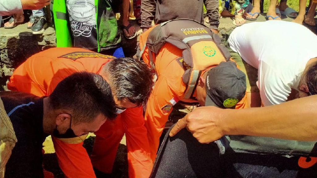 Mabuk Usai Pesta Miras, Pemuda Tenggelam di DAS Tondano Sulut