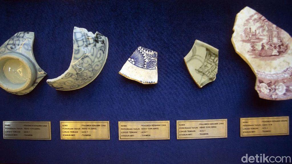 Harta Karun China di Proyek MRT: Keramik hingga Peluru