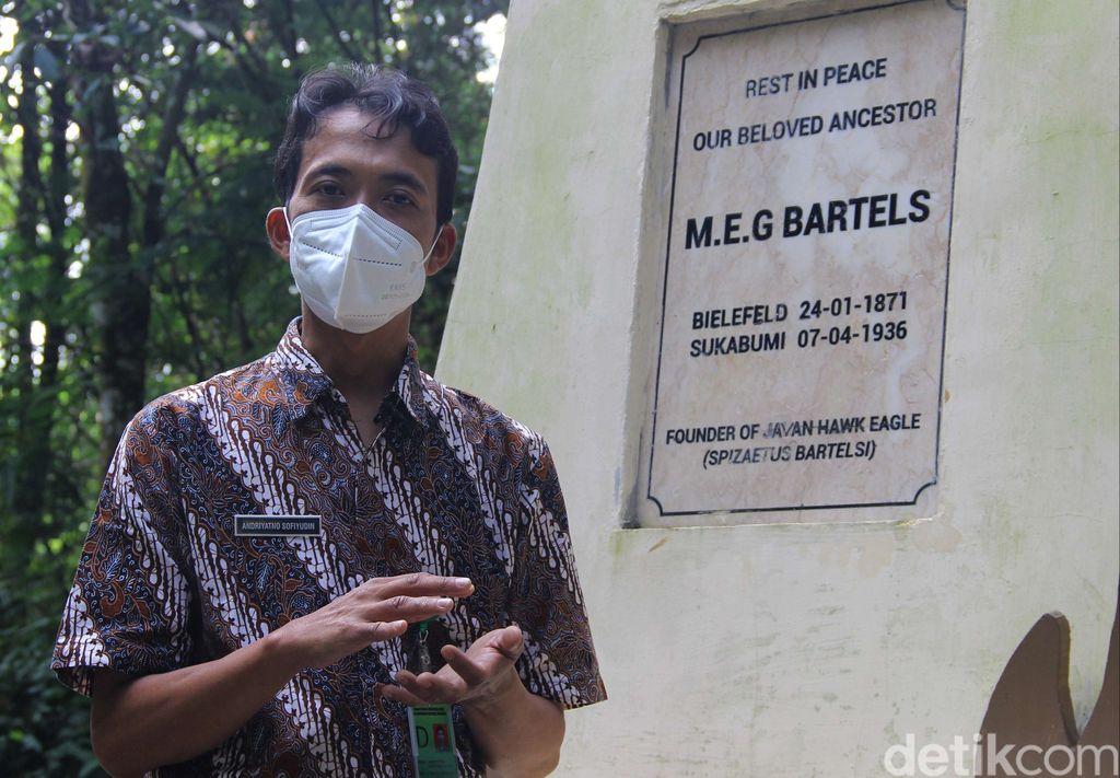 Pengendali Ekosistem Hutan (PEH) Bidang II Sukabumi Taman Nasional Gunung Gede Pangrango, Andriyatno Sofiyudin