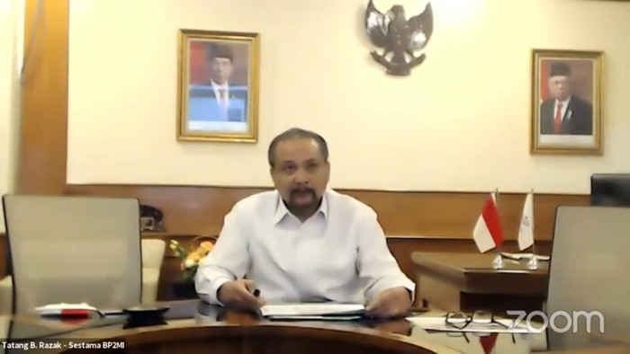 Sekretaris Utama Badan Pelindungan Pekerja Migran Indonesia (BP2MI), Tatang B. Razak