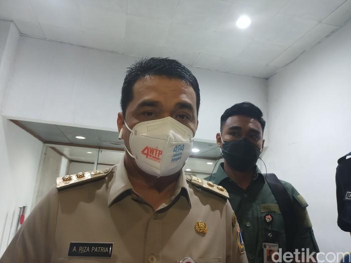 Wagub DKI Jakarta Ahmad Riza Patria