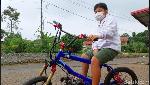 Sepeda BMX Disulap Jadi Motor, Cuma Ada di Bandung!
