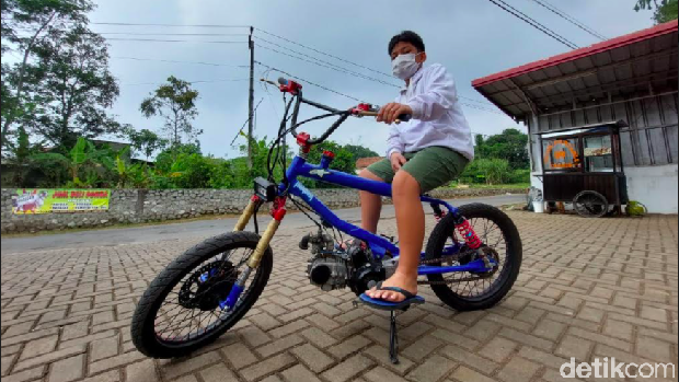 BMX Cub sepeda motor made in Bandung Barat, Jawa barat.