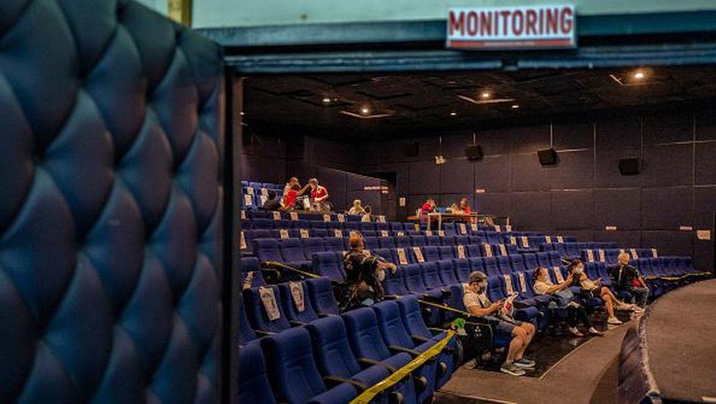 Potret Bioskop di Manila yang Disulap Jadi Lokasi Vaksinasi Corona