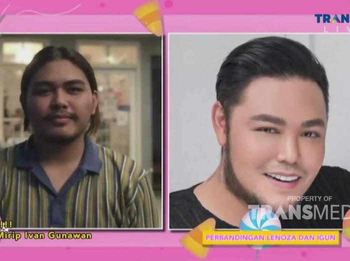Pria viral mirip Ivan Gunawan