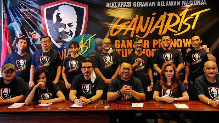 Deklarasi Relawan Ganjarist, pendung Ganjar Pranowo