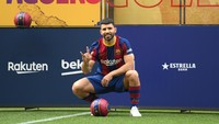 Barcelona Vs Valencia: Menanti Debut Sergio Aguero