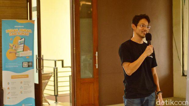 Wilson Yanaprasetya, Pendiri aplikasi Dagangan