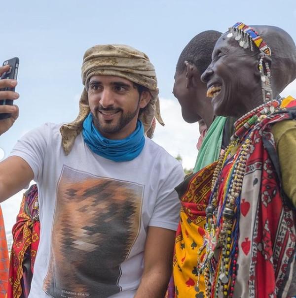 Dalam postingannya Fazza tidak mengungkapkan kapan dia berkunjung ke Tanzania. Sepertinya ini adalah foto sebelum adanya pandemi Corona.