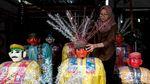 Geliat Perajin Ondel-ondel di Kampung Betawi Setu Babakan