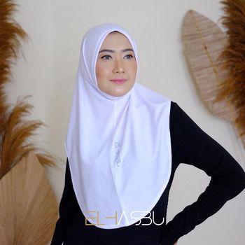 Hijab olahraga dari Elhasbu.