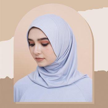 Hijab olahraga dari NRH x Nabilia.