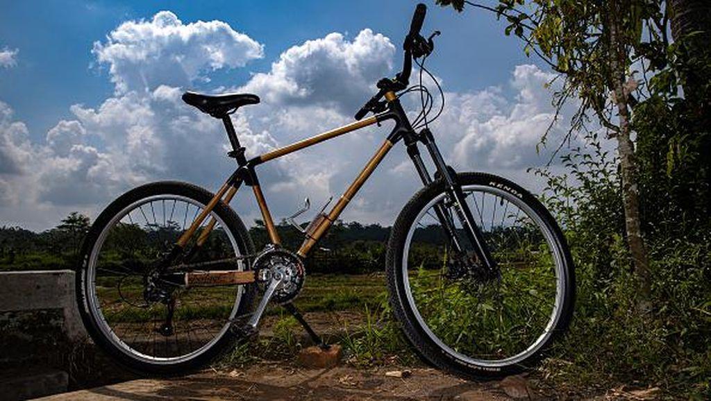 Ini Sepeda Bambu Made in Indonesia yang Tembus Pasar Dunia