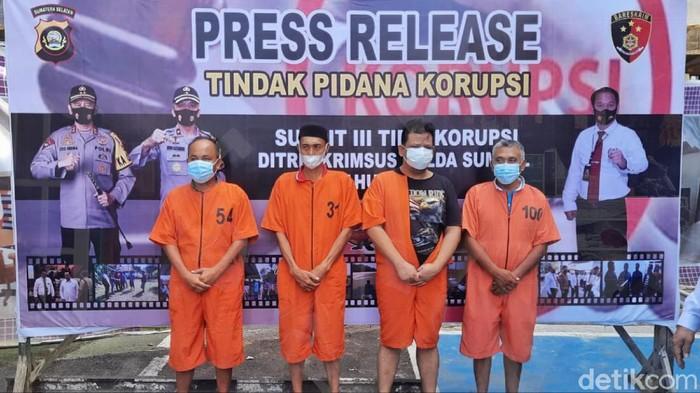 Kasus Pengadaan Lahan Olahraga di Sumsel, 4 Orang Termasuk Kades Diciduk (Prima S/detikcom)