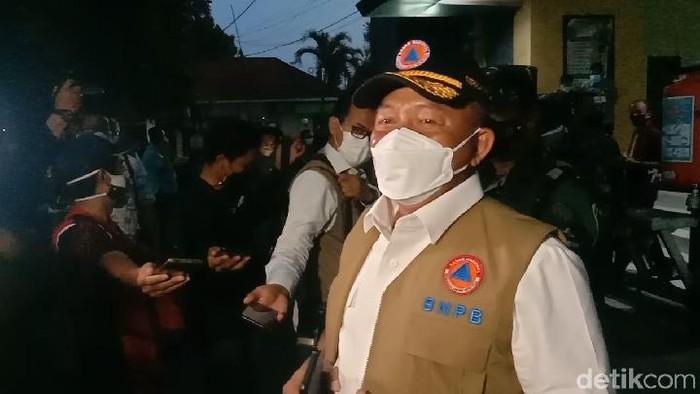 Kepal BNPB Letjen TNI Ganip Warsito di Command Center Pendapa Kabupaten Kudus, Rabu (2/6/2021).