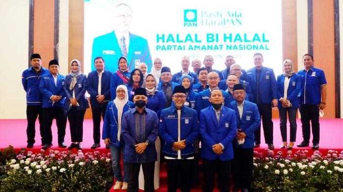 Partai Amanat Nasional (PAN) menggelar halal bi halal bertempat di Gedung Nisantara IV DPR RI, Rabu (2/6).