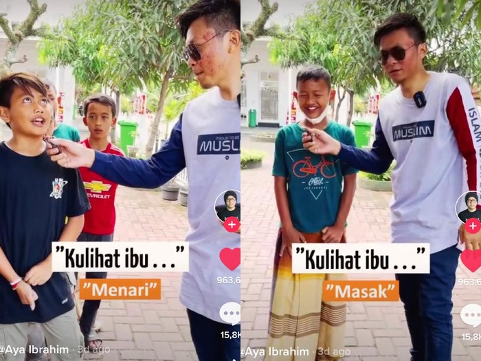 Viral eksperimen sosial bocah tak tahu lirik lagi Ibu Pertiwi.