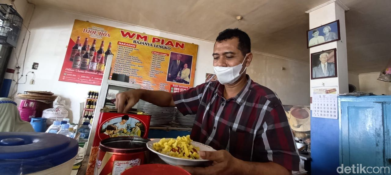 Warung Makan Pi'an, Warteg Legendaris di Tegal Sejak Tahun 1926