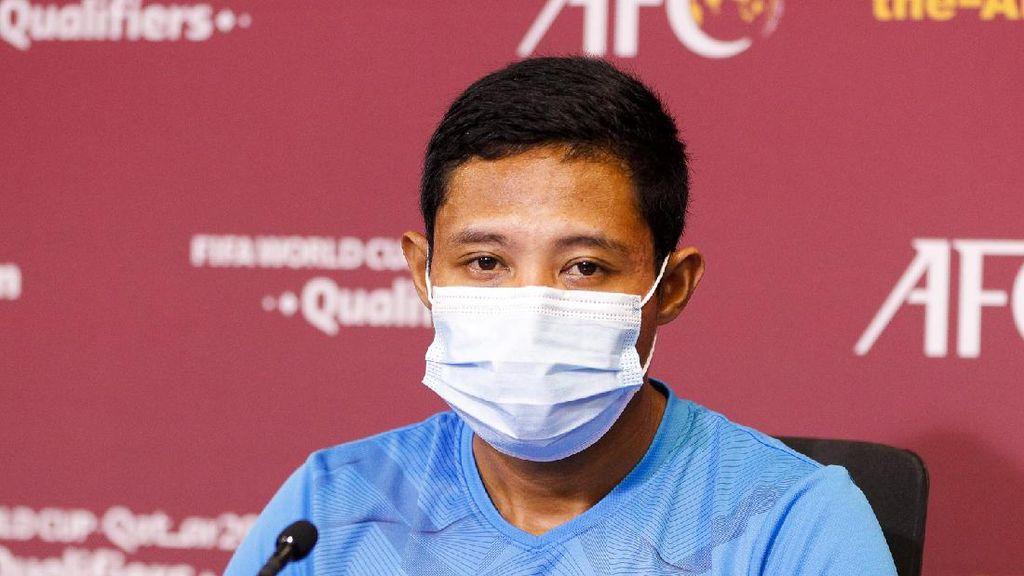 Jadi Man of The Match Indonesia Vs Thailand, Evan Dimas Merendah