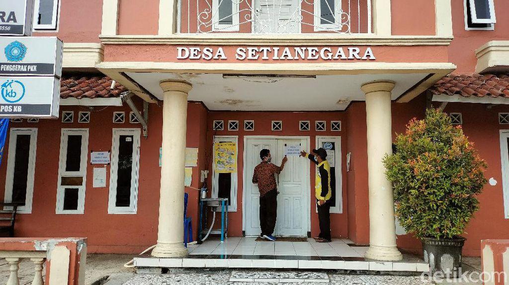 Kantor Desa Kuningan Lockdown Gegara 10 Pegawai Positif Corona