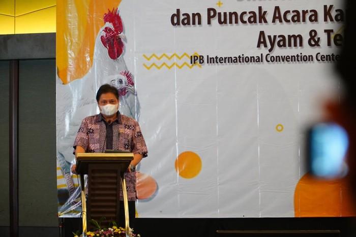 Airlangga mengatakan pemerintah akan beri 5 stimulus untuk sektor pertanian dan perikanan.