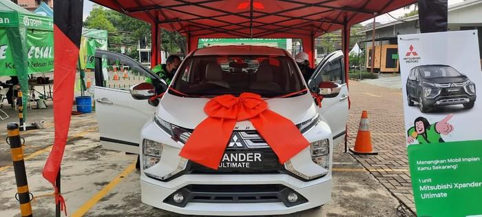 Mitsubishi Xpander Hadiah untuk Driver Ojol Beruntung yang Sudah Divaksin