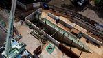 Penampakan Terkini Proyek Terowongan Silaturahmi Istiqlal-Katedral