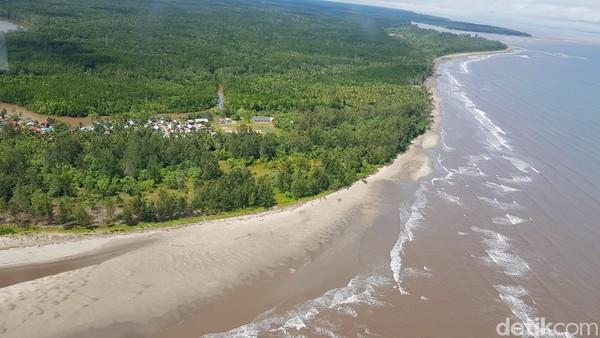 Keakwa nerupakan sebuah pulau yang berada di Distrik Mimika dan berhadapan langsung dengan Laut Arafuru. (Yayasan Somatua/Istimewa)