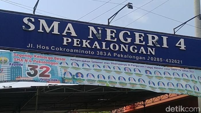 SMAN 4 Kota Pekalongan, Kamis (3/6/2021).