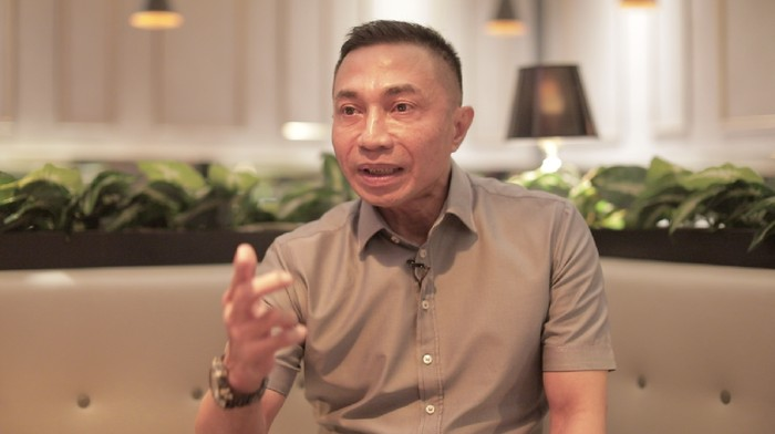 Wakil Kepala Badan Siber dan Sandi Negara (BSSN) Komjen Pol Dharma Pongrekun (Tim 20detik)